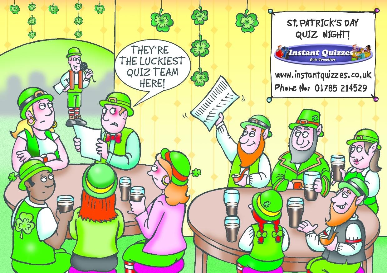 St Patrick's Day Quizzes